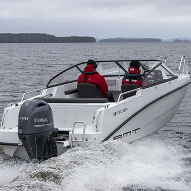 Bow rider AMT 190 BR 4